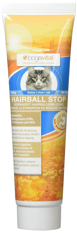 bogavital hairball stop katze 2er pack 2 x 100 gr amazon de haustier