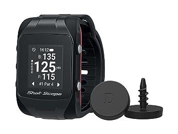 Shot Alcance Unisex Reloj GPS y automático Sistema de Seguimiento de Rendimiento, Negro, un tamaño: Amazon.es: Deportes y aire libre