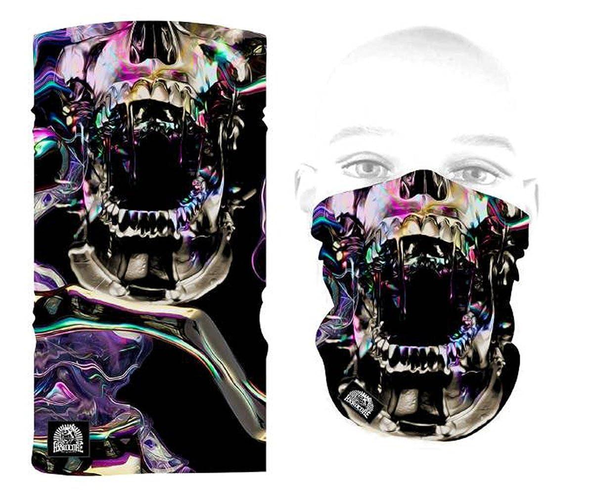 100% Hardcore Bandana LIQUID TENSION Balaclave Facemask Gesichtsmaske Maske Tuch Skull 375-BAN03-050
