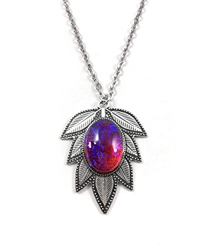Bright Large Cabochon Necklace