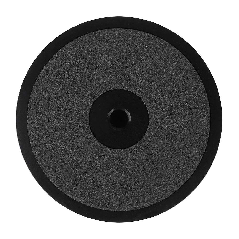 Zerone r/écord Weight Clamp LP Vinyl Tocadiscos Metal Disc Stabilizer para Lector chasis Reproductor de CD Altavoces reolacemnet Negro