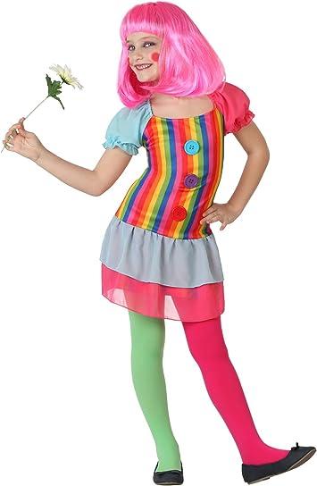 Atosa-23872 Disfraz Payasa, Multicolor, 3 a 4 años (23872: Amazon ...