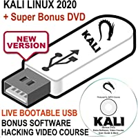 Kali Linux 2020 16GB USB Bootable Live Install Linux OS - Newest Version Penetration Testing Operating System + Ethical…