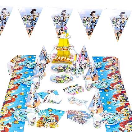 Shanhai 78 Piezas Toy Story Theme Pack Para Fiestas Kid