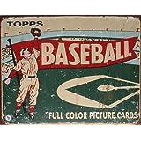 TIN SIGN Topps Baseball , 16x13