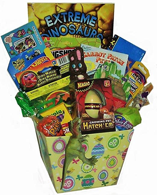 Dinosaur easter baskets easter wikii dinosaur easter baskets negle Image collections