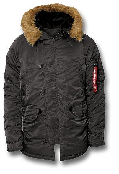 Alpha Industries Extreme Cold Weather N3B Parka Men's Jacket ...
