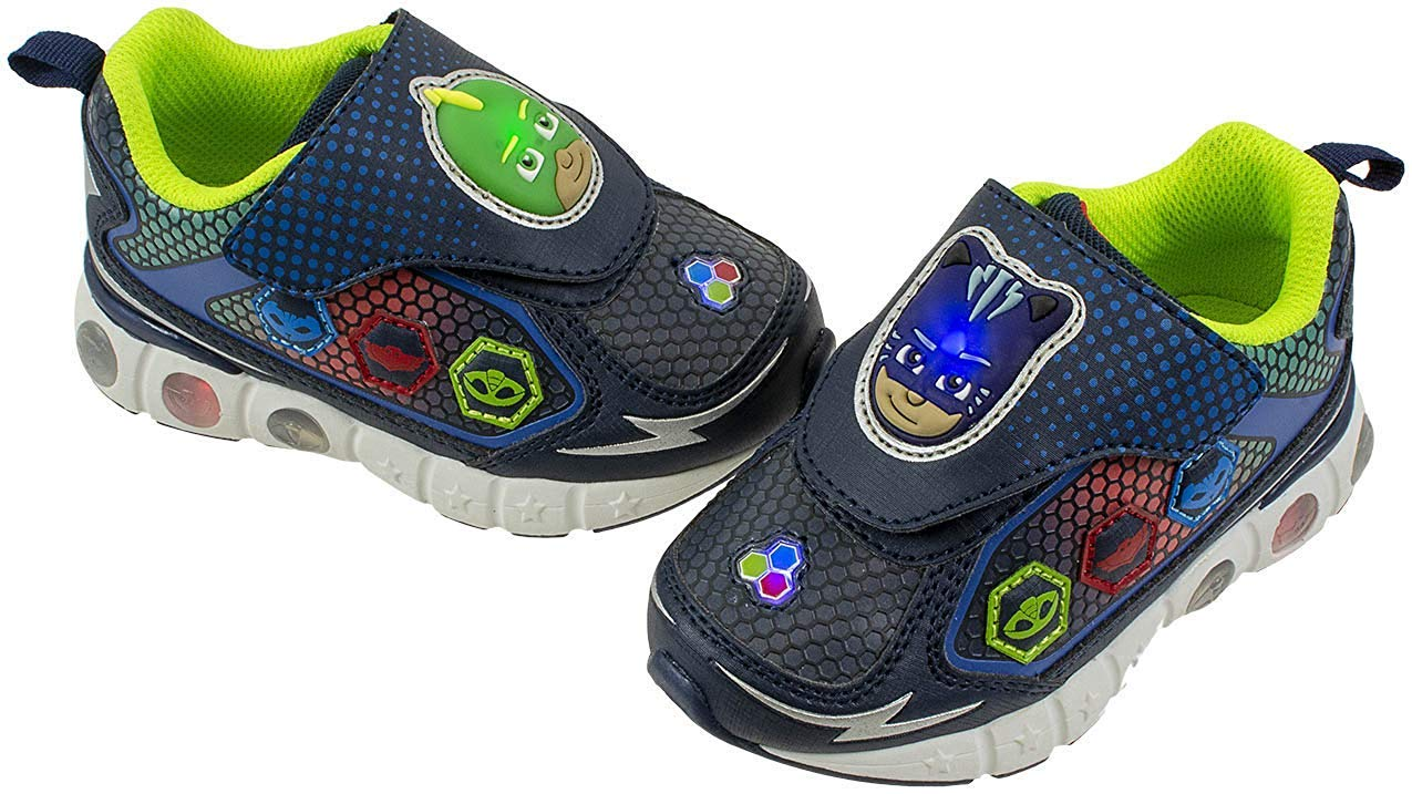 PJ Masks Toddler Light-Up Athletic Shoe (11) Blue