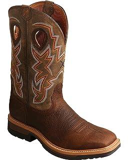 4e52c69faaa Amazon.com   Twisted X Men's Lite Cowboy Steel Toe Workboot ...