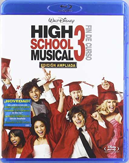Pack Combo High School Musical 3 [BR] [Blu-ray]: Amazon.es: Ashley ...