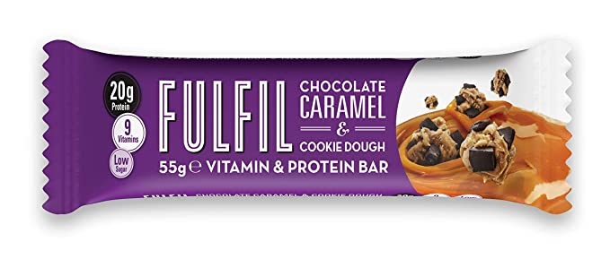 Fulfil Choc. Car.& Cookie Protein Bar 55G #Fulcccd15