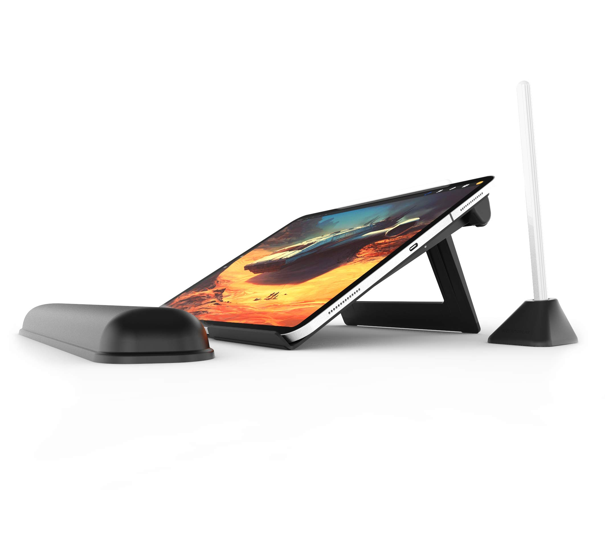 Elevation Lab DraftTable Kit for iPad Pro - Adjustable Stand for iPad Pro & Pencil, Designed for Professionals and Designers. Includes PencilStand & ArmRest by Elevation Lab