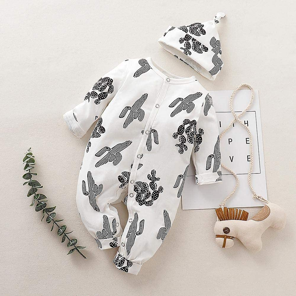 Hat Casual Autumnal Clothes Pants Boys Clothing Sets SHOBDW Newborn Baby Girls Striped Letter Print Long Sleeve Tops