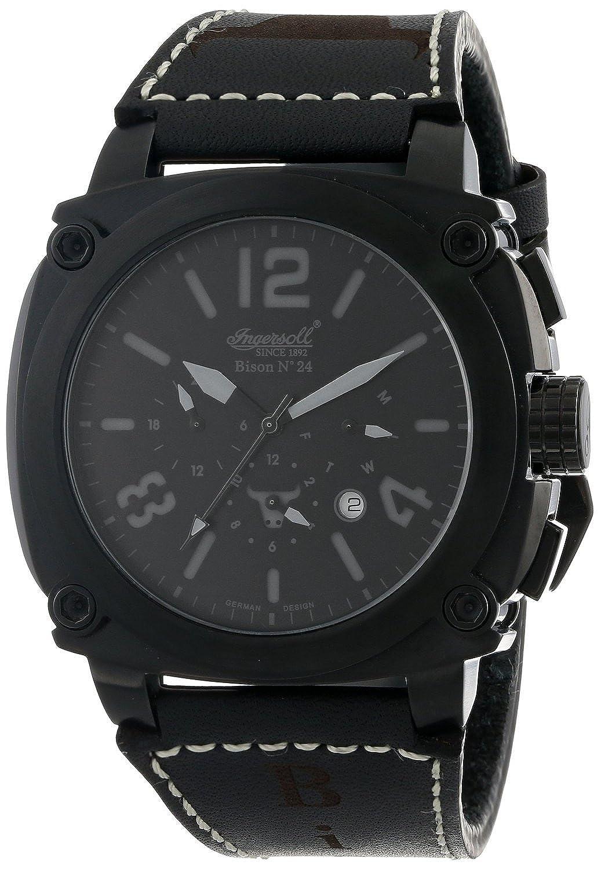 [インガソール]Ingersoll 腕時計 Automatic Bison No. 24 Black Watch IN4103BBKB メンズ [並行輸入品] B016E4NVM4