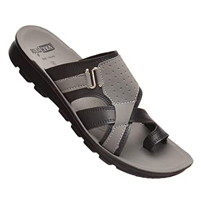 be42a1941 VKC Pride Men's Black Outdoor Sandals: Buy Online at Low Prices in ...