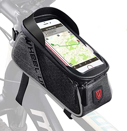 Bike Bag Touch Screen Mobile Phone Case Mountain Road Rainproof Pannier Top