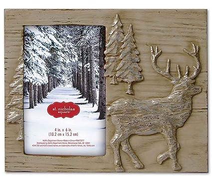 Amazoncom St Nicholas Square 2016 Deer Tree 4 X 6 Frame