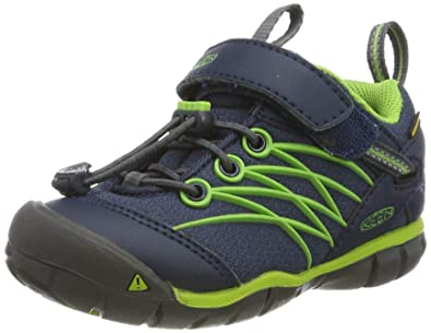 686a422518f Keen Unisex Baby's Chandler CNX WP Hiking Shoe Dress Blues/Greenery 8  Toddler US Toddler