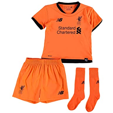 198960c3e46 Liverpool FC 17 18 3rd Mini Kids Football Kit  Amazon.co.uk  Sports    Outdoors