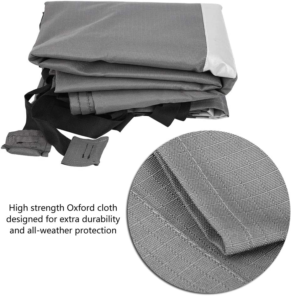 Universal 2.5 m Protective Cover for Motorhome Caravan Cover for Most Caravans