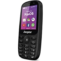 Energizer Energy E241S Feature Phone, 512 MB RAM, Dual Mini Sim - Black