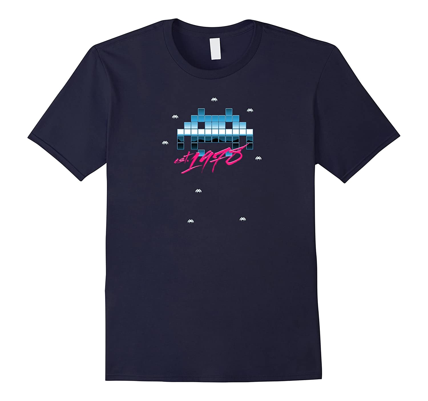 Invaders from Space Retro Shirt-PL