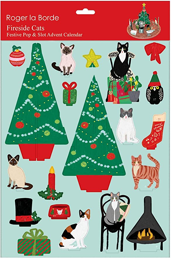 Roger La Borde Christmas Conifer Advent Calendar