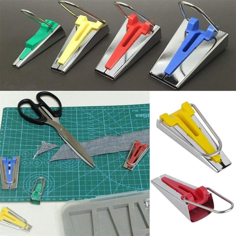 AWL 60Pcs Fabric Bias Binding Tape Maker Kit Binder Tool For Sewing /& Quilting