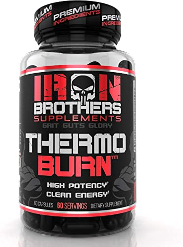 Thermogenic Fat Burners for Men Women – Strongest Appetite Suppressant for Weight Loss – Metabolism Boosting – Hardcore Carb Blocker and Focus Supplement – Keto Pills – 60 Veggie Capsules