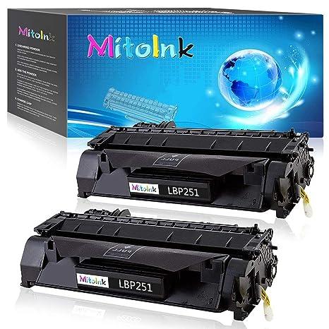 Amazon.com: MitoInk LBP251 - Cartucho de tóner compatible ...