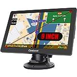 GPS Navigation for Car, 9 inch Big Touchscreen Trucking GPS 8GB SAT NAV System Navigator Turn by Turn Directions Navigation S