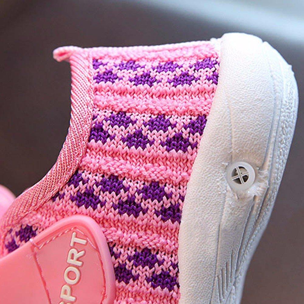 Berimaterry Primeros Pasos Zapatos de Bebé Zapatillas para Infantil Recién Niñas Niños 0-18 Mes Zapatillas Niño Bebés Zapatos de bebé Deporte ...