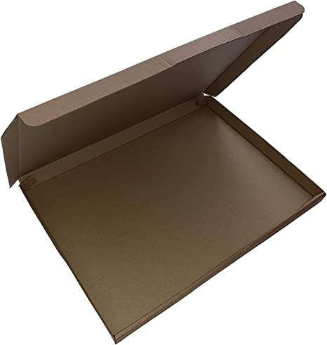 25 x Royal Mail Large Letter Postal Box Pip Mailing Shipping Cardboard Cartons A4 // A5 // DL//Mini Pack of 25 Brown, A4 // C4 324 x 230 x 20mm