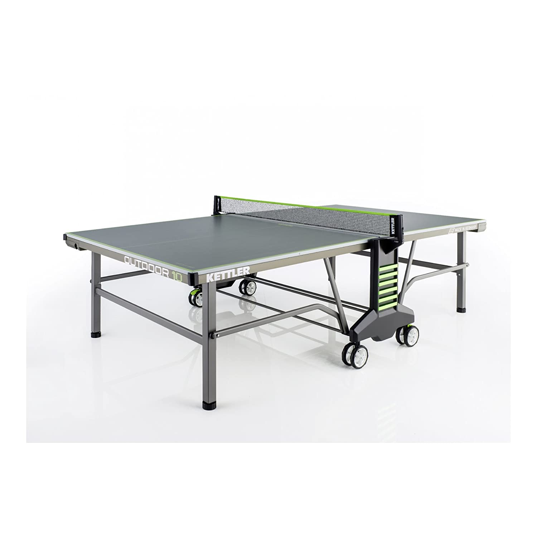 OUTDOOR 10 Verde - Mesa de ping pong: Amazon.es: Deportes y aire libre
