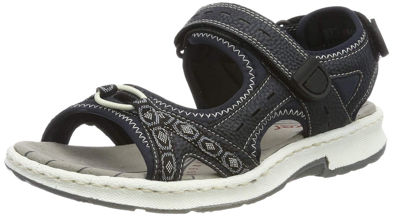 bluee Rieker Women's Synthetic Sandals