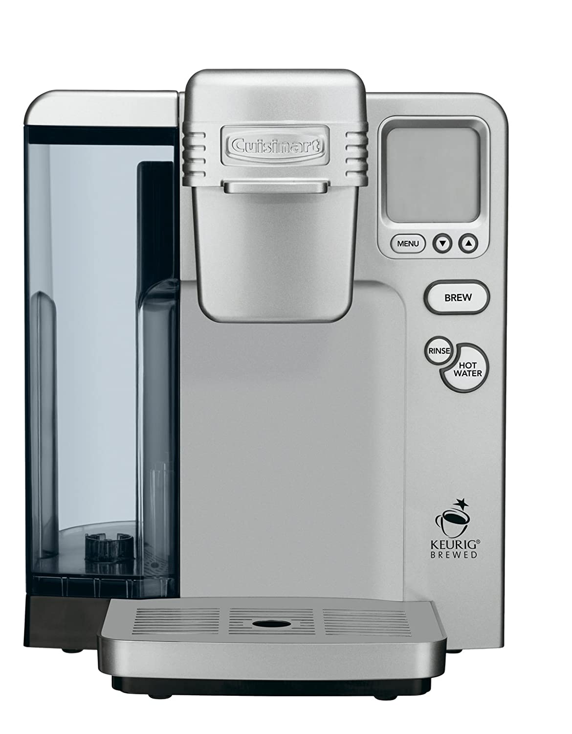 Amazoncom Cuisinart Ss 700 Single Serve Brewing System Silver