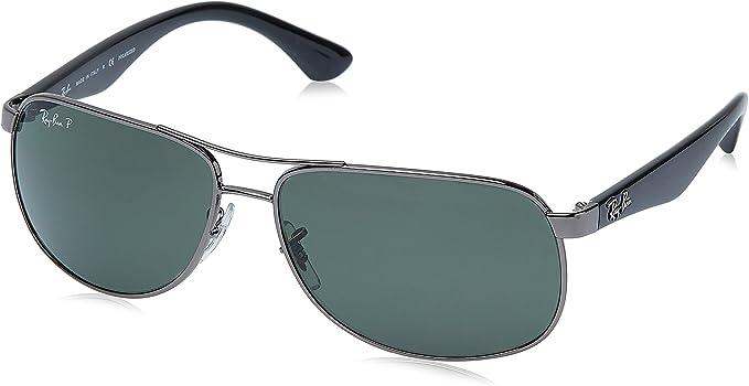 Ray-Ban Rb3502 Gafas de sol, Gunmetal, 61 para Hombre: Amazon.es ...