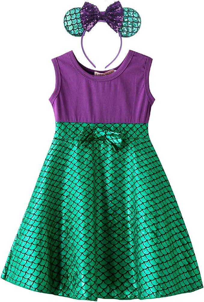 Amazon.com: MYRISAM - Disfraz de sirena inspirada en la ...