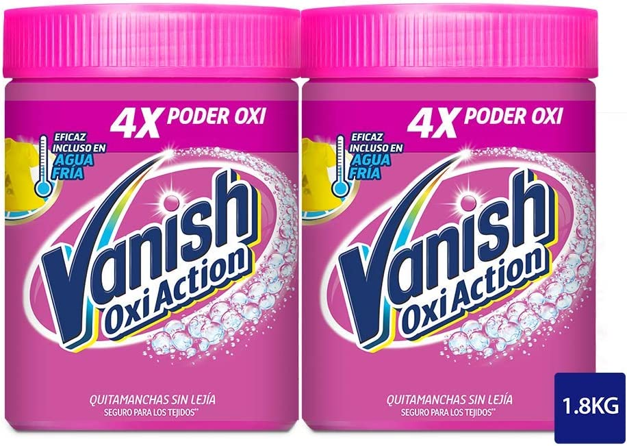 Vanish Oxi Action - Quitamanchas para Ropa Blanca y de Color, en ...