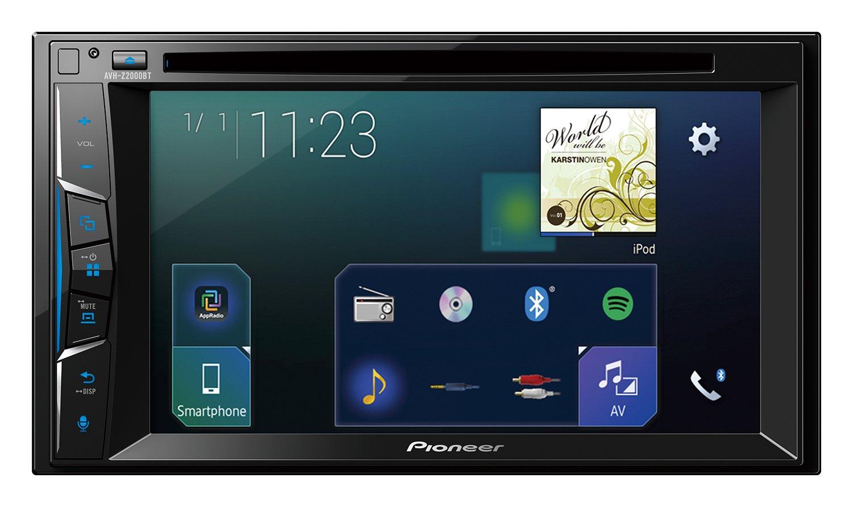 Pioneer AVH-Z2000BT - Pantalla Multimedia, Color Negro: Amazon.es: Electrónica