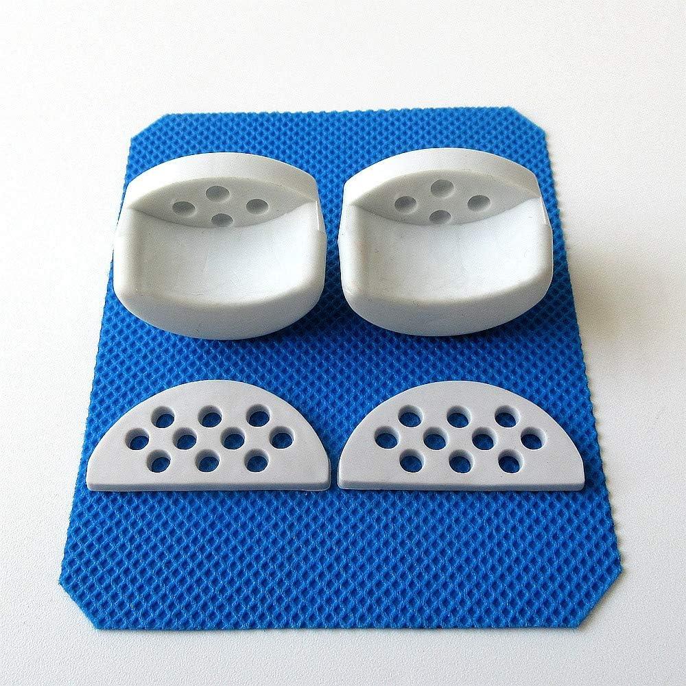 4 cojines de goma para montaje de esquina para máquina de coser industrial, cárter de aceite