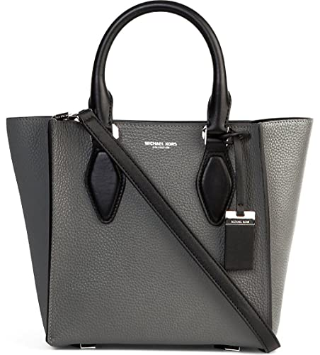 98aa52630706 Michael Kors Collection Gracie Small Leather Tote in Slate/Black ...