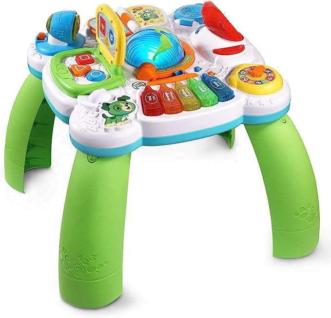 Amazon.com: LeapFrog Little Office Learning Center, Green: Toys & Games