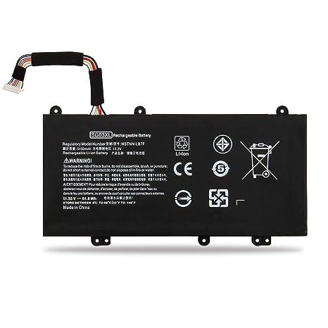 Emaks SG03XL Battery for HP Envy M7 17-U000 17t-U000 M7-U000