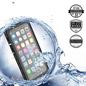 iPhone X Case Wasserdichte HandyHülle 360° Full Sealed Tasche TPU + ...