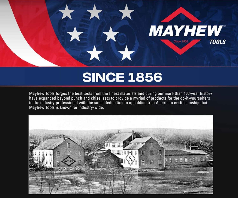 "Mayhew Tools 21240 Pin Punch 1.5mm x 3//4 x 4/"""