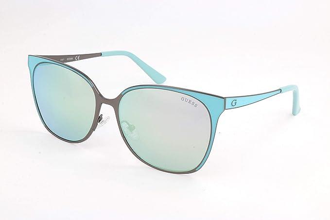 Guess Gafas de sol, Azul (Blue), 58.0 para Mujer: Amazon.es ...