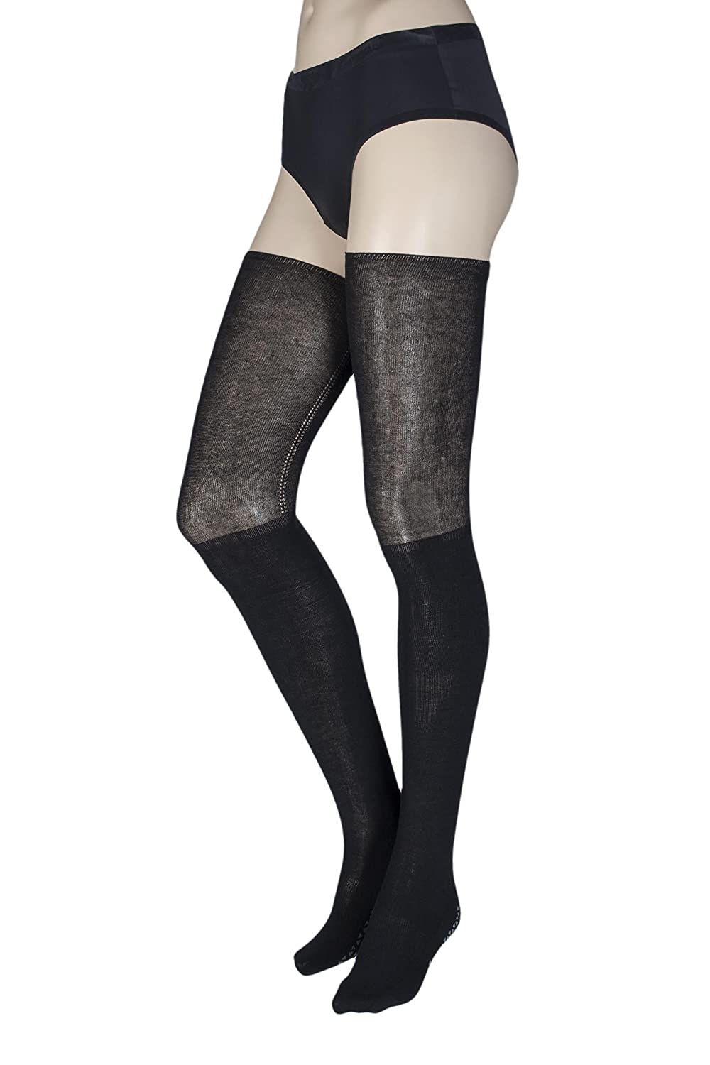 Grip Barre & Yoga Socks - Tavi Noir Women's Charlie Non-Slip Knee High Sock