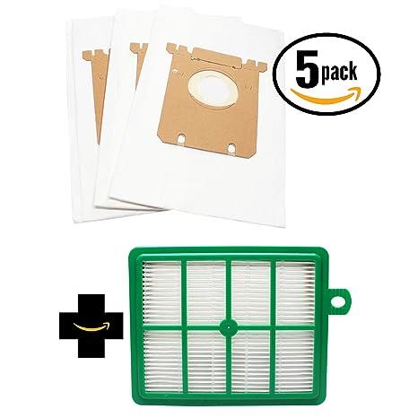 15 de repuesto Electrolux el7061b al vacío bolsas y 1 filtro ...