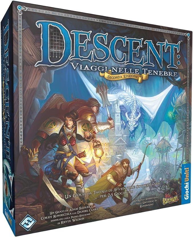 Giochi Uniti Descent: Viaggi Nelle Tenebre - Juego de Mesa (en Italiano) [Importado de Italia]: Amazon.es: Juguetes y juegos
